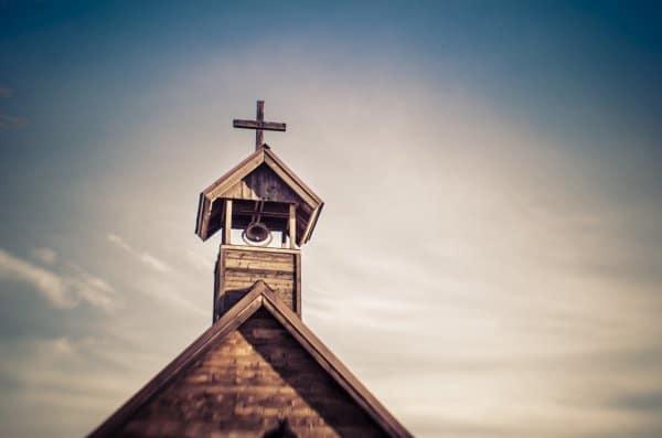 Krzyż nadachu kościoła